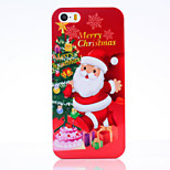 Christmas Old People UV Varnish PC Material Christmas Phone Case for iPhone 5 /5S