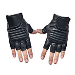 Men's Cycling Gloves Half Finger Anti-Skidding Sport PU Leather Gloves
