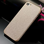 Silk Soft Grain Leather PU Phone Case  for iPhone 5/5S (Assorted Colors)