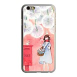 Miss Pattern PC Hard Case for iPhone 6/6S