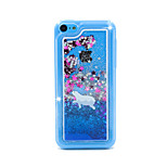 Seal Flow Sand PC Material Cell Phone Case for iPhone 5C