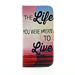 Life to Live PU Leather Wallet Full Body Case for iPhone 6/6S