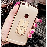 High Quality Metal Electroplating with Stand Back Cover for iPhone 6S/6 Plus (Assorted Colors)