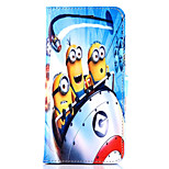 Daddy Series of Small Yellow People Pattern Magnet Phone Holster Buckle for iPhone 4/4S