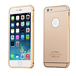 Protective Metal Bumper Frame with Back Cover for iPhone 6 Plus (Assorted Colors)
