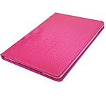 Solid Color Crocodile Skin Pattern PU Leather Case Cover for iPad Air(Assorted Colors)