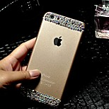 High Quality Frosted with Diamond Back Cover for iPhone 6 (Assorted Colors)