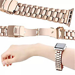 Gold/Silver Metal Stainless Steel Watchband with iWatch Connector for Iwatch 38mm 42mm