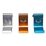 Aluminum Alloy Mobile Phone Holder for Xiaomi / Samsung / Iphone 6 + More(3pcs-3 different colors)