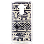 Elephant Pattern TPU Phone Case for LG Stylo LS770