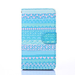 Attractive Style Pattern PU Leather Full Body Case with Stand for Multiple Sony E4/M4