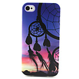 Sunset Dream Catcher Painting Pattern TPU Soft Case for iPhone 4/4S