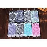 noctilucence farbige Zeichnung muster pc Handy für iphone 5s / 5 sortierte Farbe
