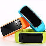 Bluetooth 4.0 relógio inteligente (vidro de safira, hodômetro, freqüência cardíaca, à prova d'água, anti-lost)