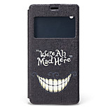 Smiling Face Pattern PU Material Full Body Case for Sony Xperia Z3