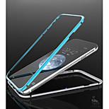 facile custodia sottile magnetico della struttura del respingente del metallo alluminio per il iphone 6