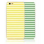 Simple Horizontal Color Stripe Painted All Soft Cases for iPhone6/iPhone 6s(Assorted Colors)