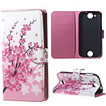 Plum Blossom Wallet Leather Stand Case for Acer Liquid Jade Z