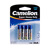 Camelion Super Heavy Duty Primary Batteries Size AAA (4pcs)