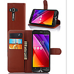 Litchi Grain Holder Protection Cover For ASUS Laser 2 ZE500KL ZenFone Mobile Phone
