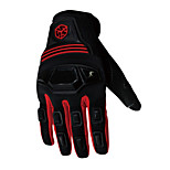Professional Motorcycle Motocross Racing Full Finger Gloves Sportswear Cycling Outdoor Sports Gloves Red -Scoyco