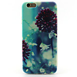Morning glory Pattern TPU Case for iPhone 6S/6