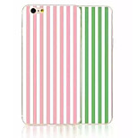 Double Color TPU Vertical Stripes Painted All the Soft Cases for iPhone6/iPhone 6s(Assorted Colors)