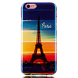 Rainbow Tower Pattern Blu-ray IMD Cell Phone Case for iPhone 6 /6S