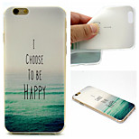 Sea Pattern TPU Cell Phone Soft Shell  for iPhone 6 Plus