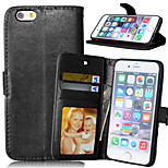 Luxury PU Leather Wallet Flip With Card Slot Photo Frame Stand Cover For iPhone 6/6S