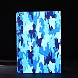 caja de cuero de la PU con la cubierta del caso del soporte para el ipad 2 de aire (colores surtidos)
