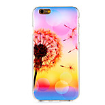 Dandelion Pattern TPU Soft Case for iPhone 6