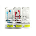 X40 High Quality 3.5mm Noise-Cancelling Mike In Ear Earphone for iPhone and Other Phones(Assorted Colors)