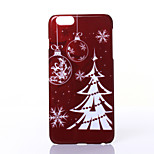 Christmas Ritual Tree Pattern PC Hard Case for iPhone 6 Plus/6s Plus