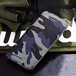 Military Camouflage PU Material Flip Leather Case for iPhone 6/6S (Assorted Colors)