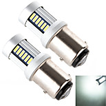 YOBO 1157 30*4014 High Performance 800LM 6500-7000K Cool White Light LED Bulb for Car Brake Lamp (2 PCS/DC 12-24V)