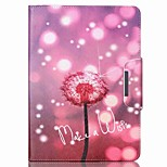 Dandelion Pattern PU Leather Full Body Case With Stand for iPad Air