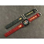 Apple Watch Band Genuine Leather Cartoon Wrist Band for Apple Watch 42mm 38MM  Assorted Colors