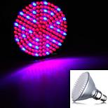 hry® 8w E27 168led 800lm 143red + 25blue valossa kasvi kasvaa vesiviljely lampun (220v)