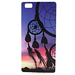 Dreamcatcher Pattern TPU Case for Huawei P8 lite