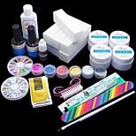 17 Pcs Manicure Pearl Diamond Decoration / Phototherapy Glue Manicure Suit