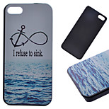 Anchor Pattern Hard Back Case for iPhone 5/5S