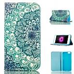protection stand de carte de modèle en cuir PU couverture de cas de Shell pour iPhone 6 / 6s