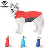URBAN PAWS Waterproof Outdoor Sports Jacket Big Dogs Winter Coat Solid Colors for Large Dogs (Assorted Colors)