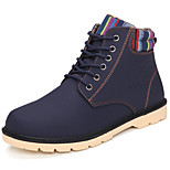 Hot Sale Fashion Warm Men's Shoes Outdoor / Athletic / Casual Boots Black / Blue / Brown / Yellow