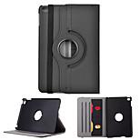 Cwxuan™ Rotatable Protective PU Case w/ Stand / Card Slots / Auto Sleep for iPad Mini 4