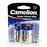Camelion Super Heavy Duty Primary Batteries Size C (2pcs)