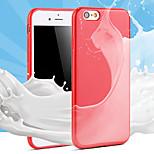 casi TPU di colore solido di colore della caramella per il iphone 4 / 4s (colori assortiti)