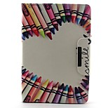 Pencil Love Pattern Hard Case for iPad mini 3, iPad mini 2, iPad mini