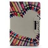 Pencil Love Pattern Hard Case for iPad mini 3, iPad mini 2, iPad mini